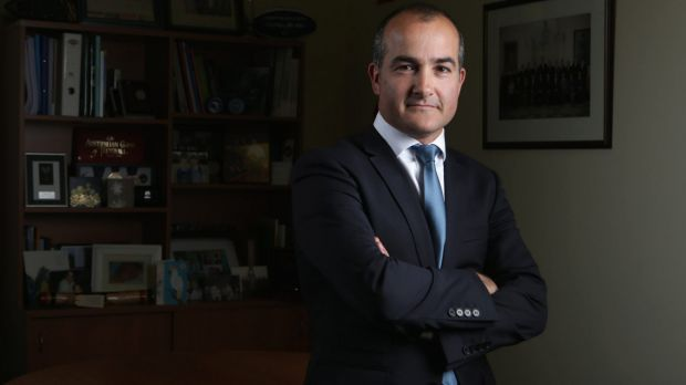 Education Minister James Merlino accused the Napthine government of failing to honour the Gonski funding agreement.