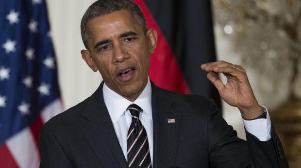 """I have directed a comprehensive and sustained strategy to degrade and defeat ISIL"": US President Barack Obama."