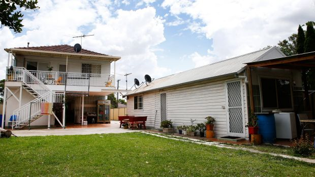 The Riverview Road, Fairfield, property where counter-terrorism police conducted the raid.