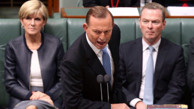"""Prime Minister Tony Abbott told Parliament the jump in the jobless rate was """"disappointing""""."""