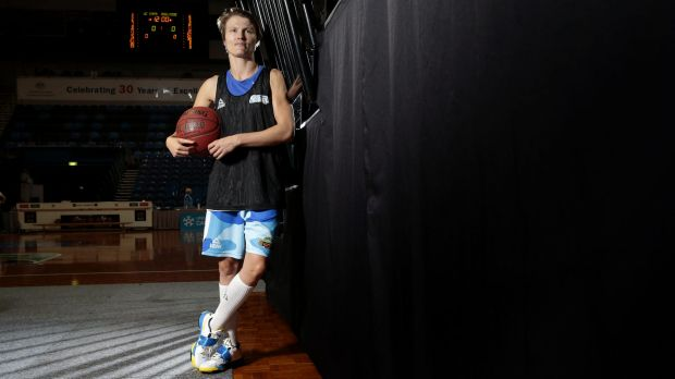 Canberra Capitals guard Jess Bibby has played this season with a fractured neck.