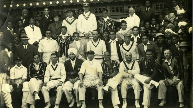 A motley crew: Photo taken in Lahore from the 1935-36 (first) Australian cricket tour to India.
