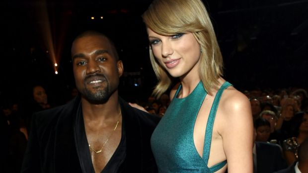 Kanye West and Taylor Swift had patched things up by the 2015 Grammys.