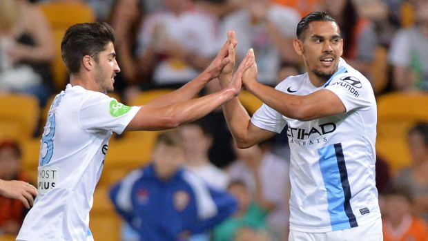 David Williams (right) looks likely to start for Melbourne City.