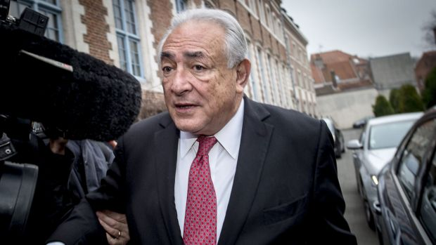 """Ex-IMF chief Dominique Strauss-Kahn: """"In an SMS, it's easy to be uninhibited."""""""