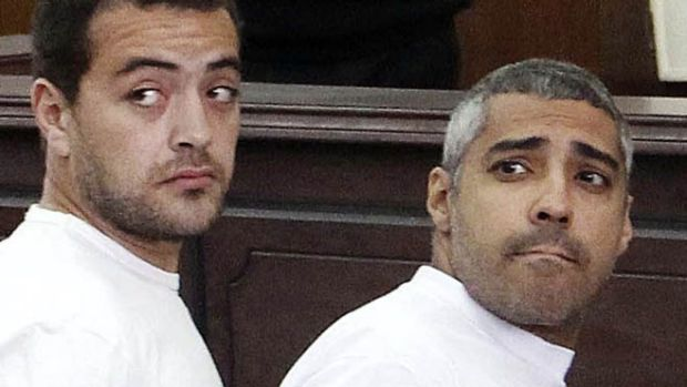 Released: Baher Mohamed and Mohamed Fahmy