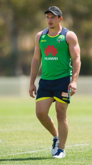 Canberra Raiders prop Jeff Lynch.
