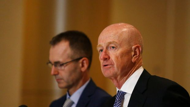 The RBA said it had to act because of softening economic momentum, continued weakness in employment growth, and easing ...