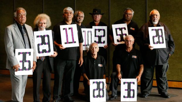 The annual National Apology Anniversary breakfast at NSW Parliament House was attended by group of men who were sent to ...