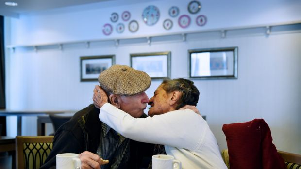 Still in love after 60 years of marriage: Salvatore Spasaro and Tindiri Spasaro.