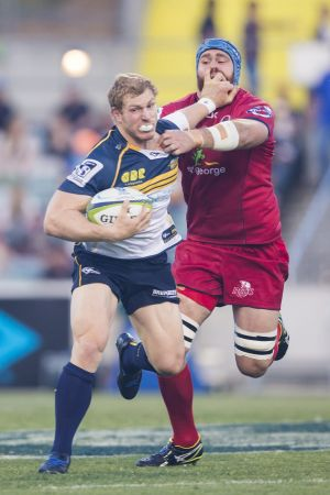 Brumbies captain David Pocock was back to his best.