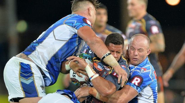 Beware of the wrestle: Players must work harder at the ruck says All Stars coach Wayne Bennett.