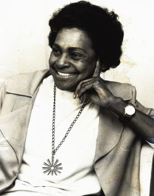 Faith Bandler in 1971, four years after the successful 1967 referendum.