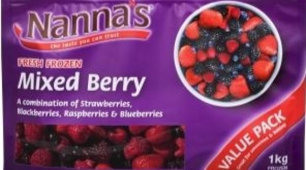 Patties recalled Nanna's one-kilogram bags of frozen mixed berries and frozen raspberries, and Creative Gourmet 300- and ...