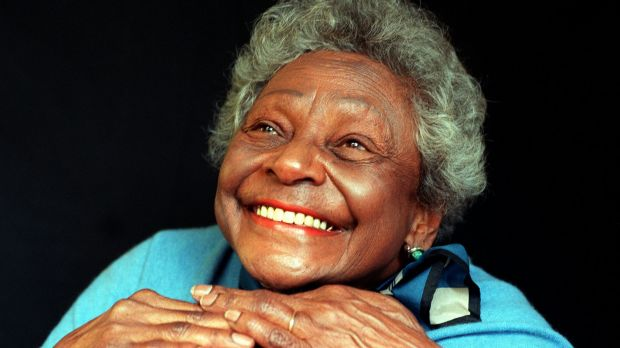 The late Faith Bandler at her home in Turramurra.