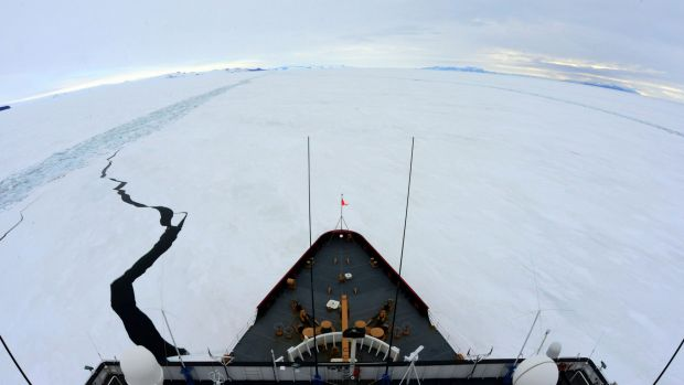 The changes under way in Antarctica are of interest to many nations.