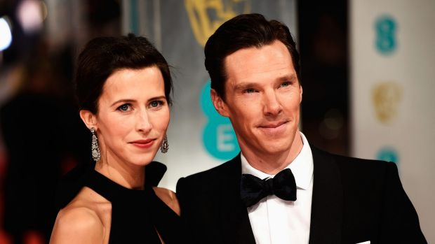 Benedict Cumberbatch and Sophie Hunter.