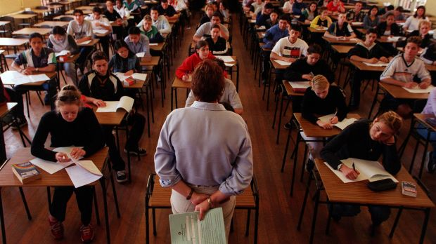"""The study found that British schools were becoming """"exams factories""""."""