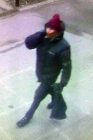 A photo issued by Copenhagen Police of the suspect in the cafe shooting.