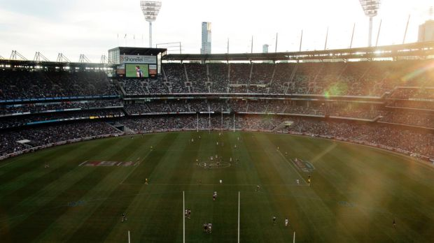 The MCG could provide respite from the heat in coming weeks.