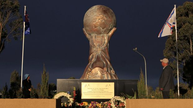 A monument commemorating Assyrian genocide victims unveiled in Bonnyrigg in 2010.