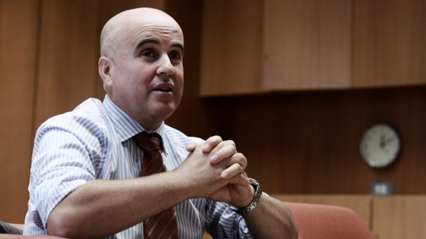 TAFE funding has been slashed by the NSW government: Education Minister Adrian Piccoli.