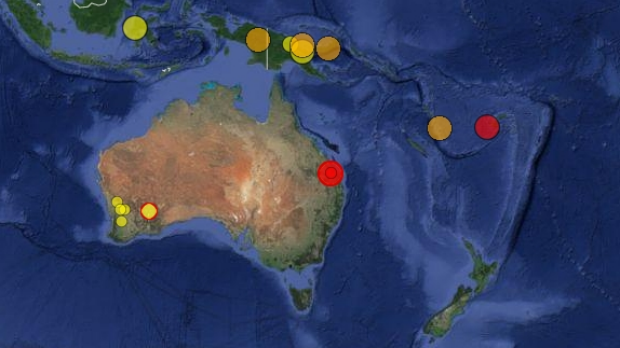 The government's Geoscience Australia website confirms the quake, which hit south-west of Bundaberg on Monday morning. ...
