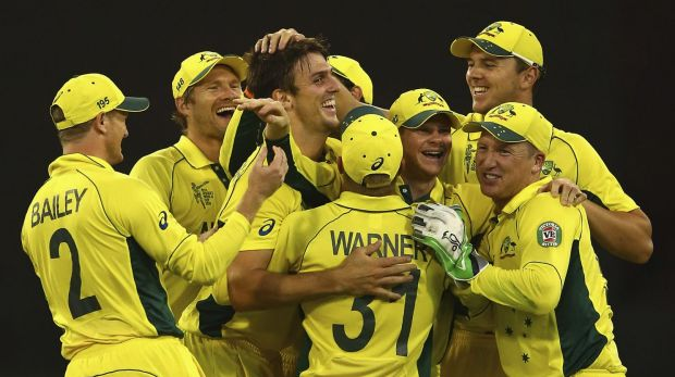 Mitch Marsh (centre) doesn't think there will be any rotations.