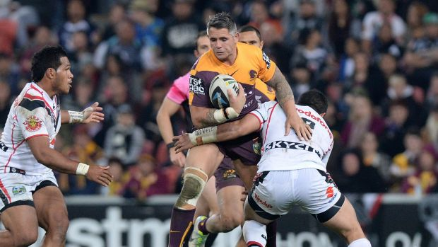 Corey Parker plays his 300th NRL game in Thursday's season opener.
