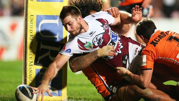 Kieran Foran has been linked with a move away from Manly to Parramatta.