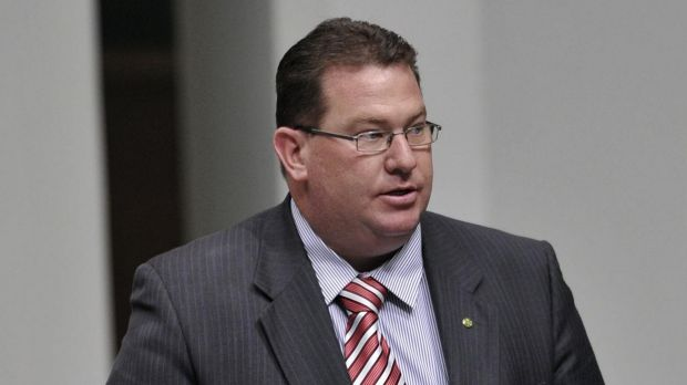 Government Whip Scott Buchholz has been among those hammering the banks.