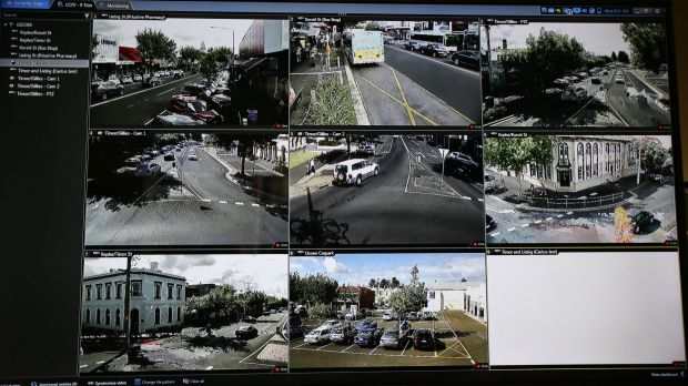 Police eventually want a database of residents with CCTV cameras facing the street.