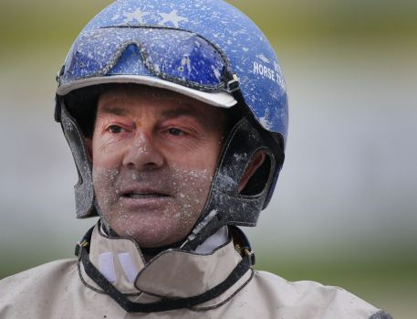 KEPT BUSY: Mark Purdon has is hands full with training duties.