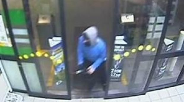 CCTV image of the offender.