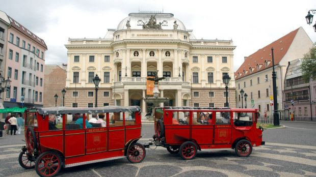Bratislava, Slovakia: home to the best performing sharemarket this year amid a global rout.