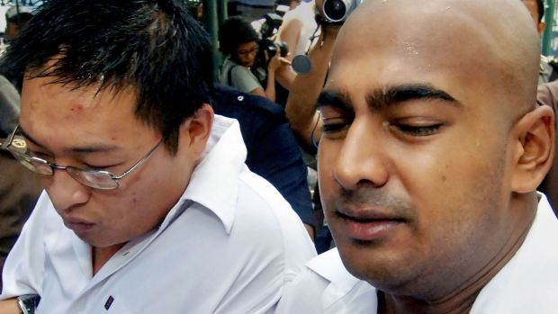 Australians Andrew Chan, left, and Myuran Sukumaran in 2006.