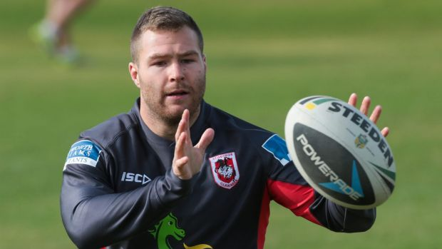 Bye bye Dragons: Trent Merrin won't sign a new contract with St George Illawarra