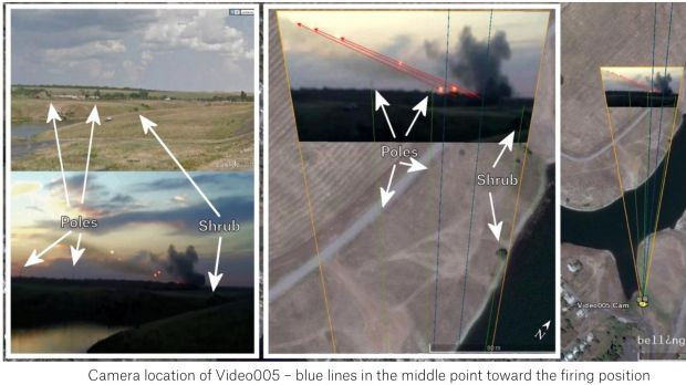 Video analysis from the Bellingcat report, which concludes that there is 'compelling evidence that artillery attacks on ...