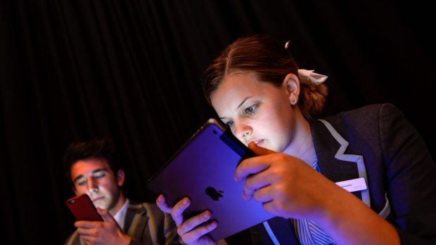 Teenagers spending too much time on electronic devices is raising concerns about inactivity and obesity. Sienna ...