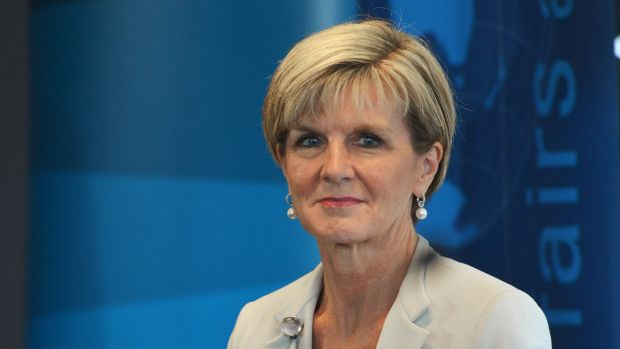 Foreign Affairs Minister Julie Bishop will visit Tehran in April.