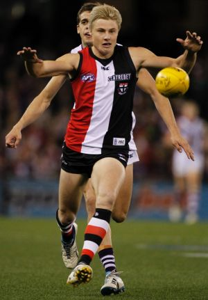 Former Saint Clint Jones is one of the players who will likely line up for Essendon in the NAB Challenge.