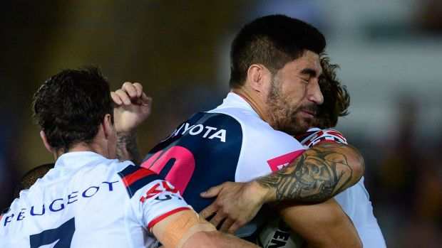 On the move?: North Queensland and NSW prop James Tamou.