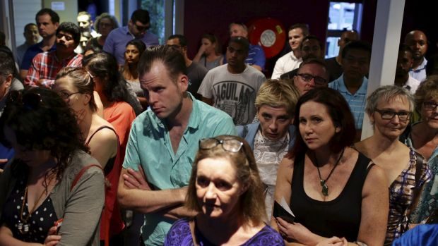 Hundreds added their plea for clemency at the Toongabbie gathering.