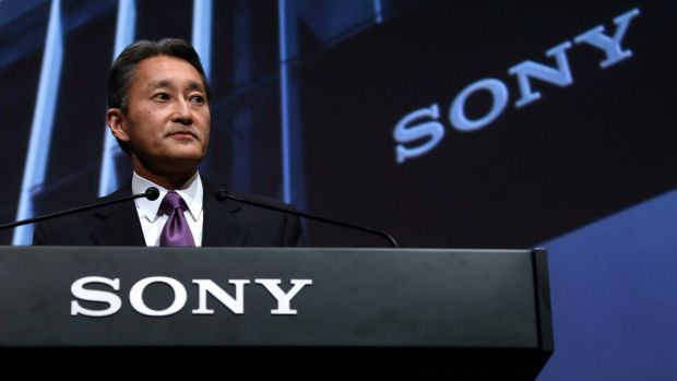 Focusing on 'engines of growth': Sony president Kazuo Hirai.
