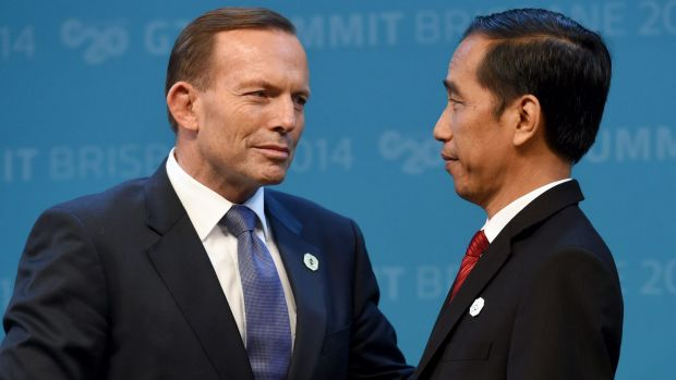 Prime Minister Tony Abbott and Indonesian President Joko Widodo: Indonesians have taken to Twitter to express outrage at ...