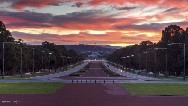 Robert Triggs' Summer Night Taken entry to the Canberra Times summer photo competition