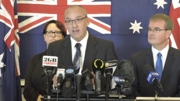 Infrastructure policy revealed: Luke Foley, Opposition Leader of NSW.