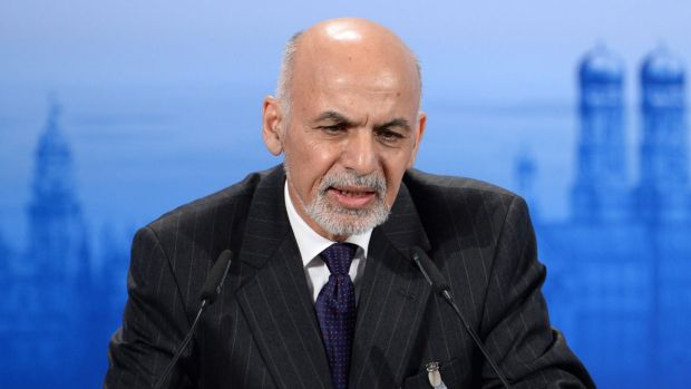Ashraf Ghani pledged to make peace talks a priority during his election campaign.