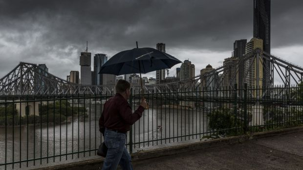 Severe thunderstorms left a trail of destruction across south-east Queensland on Saturday afternoon.