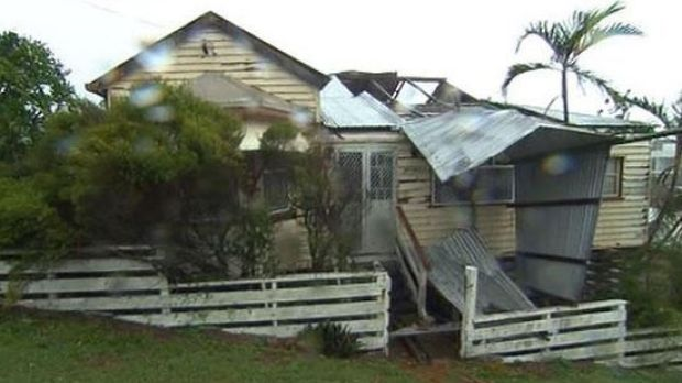 Cyclone Marcia caused significant damage to homes in Yeppoon.